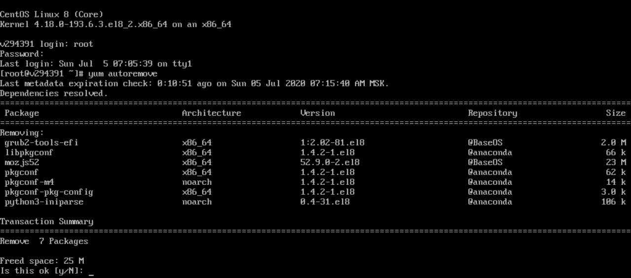 Линуксовая консоль