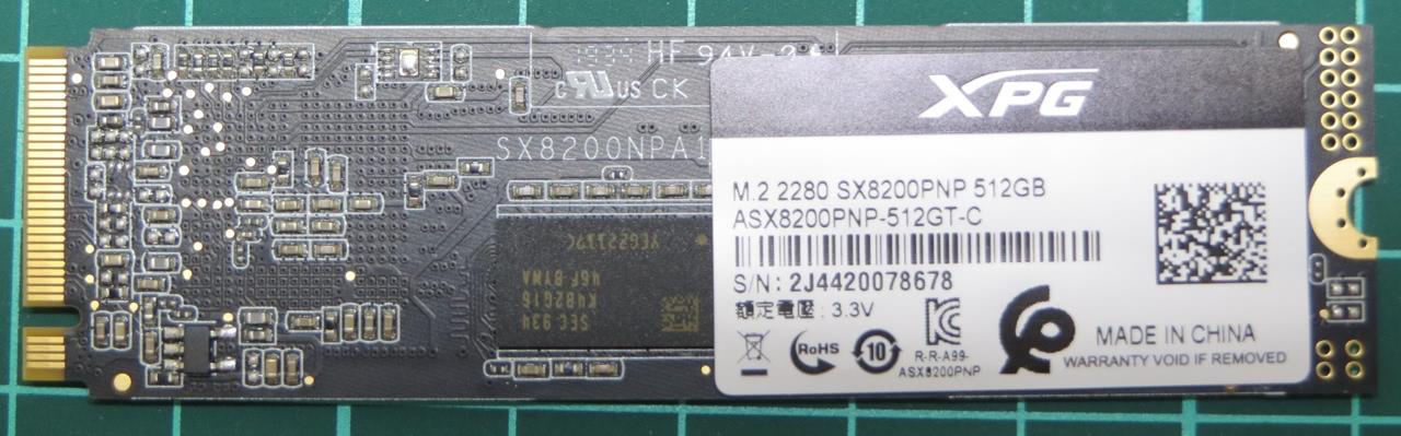 SSD диск SX8200 Pro M.2 2280 PCIe