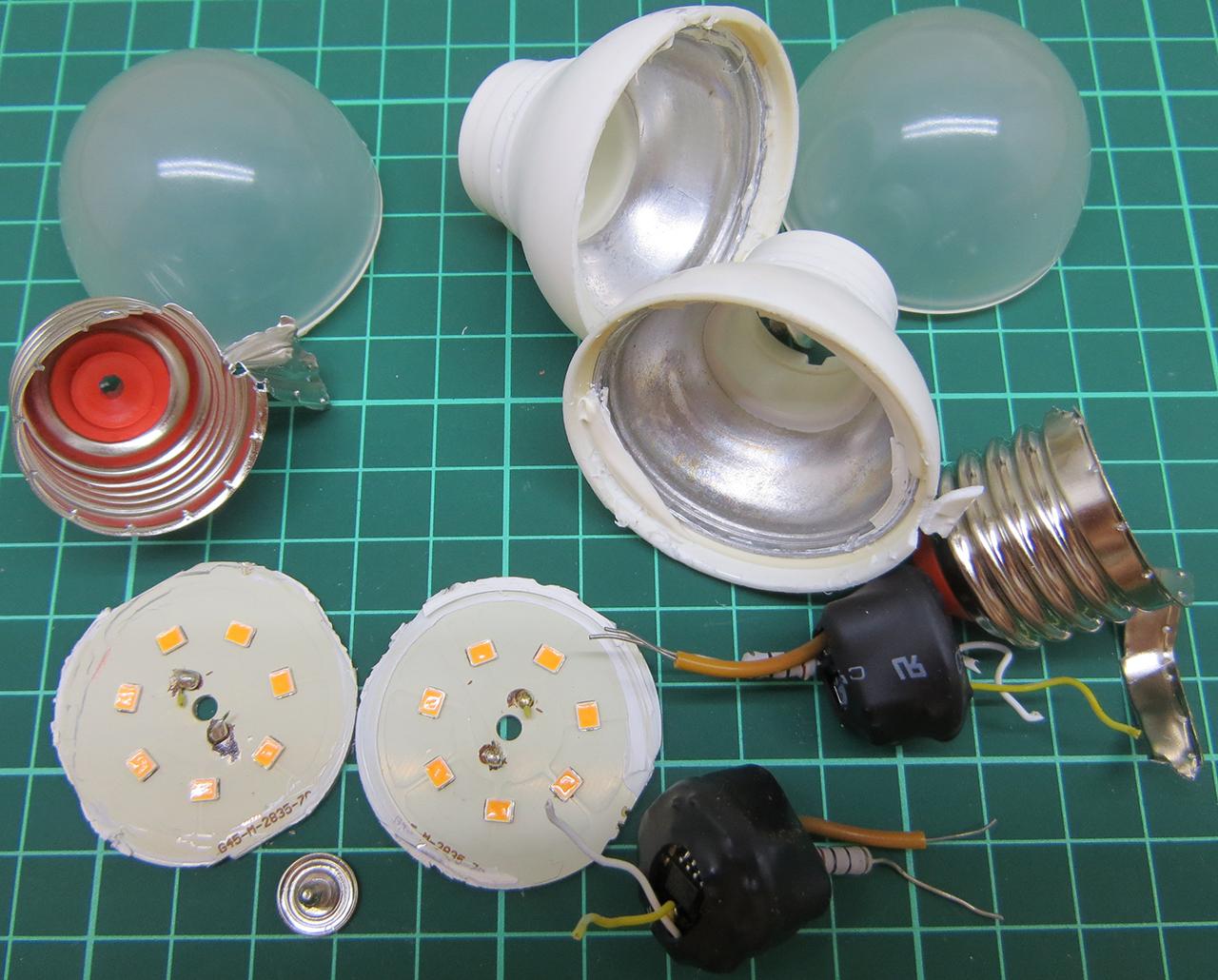 Светодиодная лампа wolta