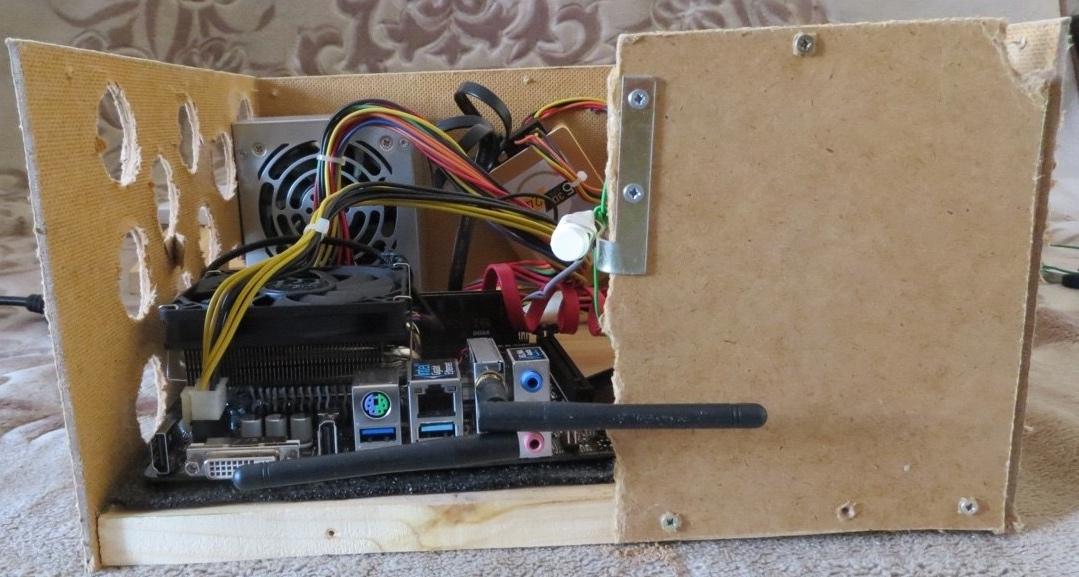 Самодельный компьютерный корпус