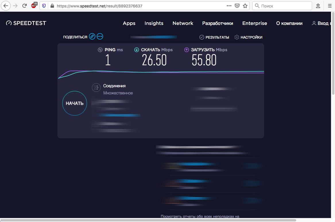 Ограничение скорости интернета mikrotik